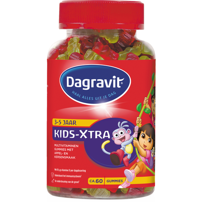 Dagravit Kids Xtra Multivitaminen Gummies Paw Patrol