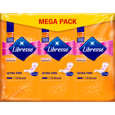 Libresse Ultra Thin Maandverband Mega Pack Normal