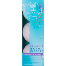 Treets Wellbeing Bath Fizzers Relaxing