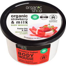 Organic Shop Strawberry Yoghurt Body Mousse