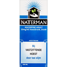 Natterman Mucodyne Adult 50 mg/ml Hoestdrank