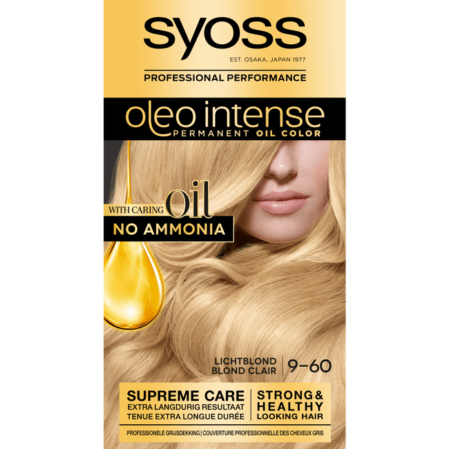 Syoss Oleo Intense Permanent Oil Color 9-60 Lichtblond