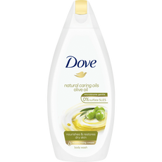Dove Natural Caring Oils Olive Oil Dochecrème 500 Ml