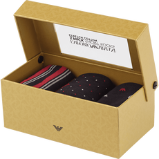 Armani Socks Black Red