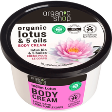 Organic Shop Indian Lotus Body Cream