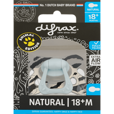 Difrax Limited Edition Natural Fopspeen 18+ Maanden