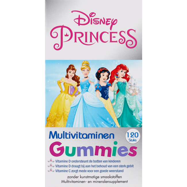 Disney Princess Kinder Multivitaminen Gummies