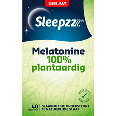 Sleepzz Melatonine 100% Plantaardig 0,29mg
