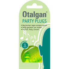 Otalgan Party Plugs Oordopjes