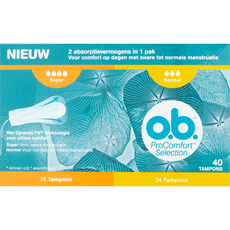 OB ProComfort Selection Tampons