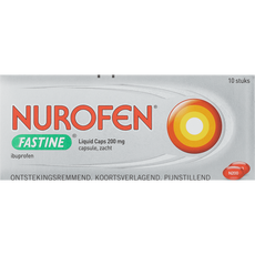Nurofen Fastine Liquid Caps 200 mg