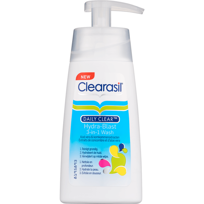 Clearasil Stayclear 3-In-1 Wash