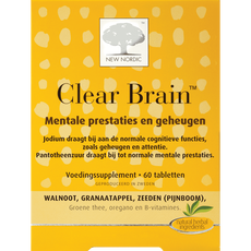 New Nordic Clear Brain Tabletten