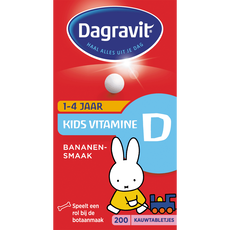 Dagravit Kids Vitamine D Tabletjes