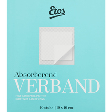 Etos Absorberend verband 10 x 10 cm
