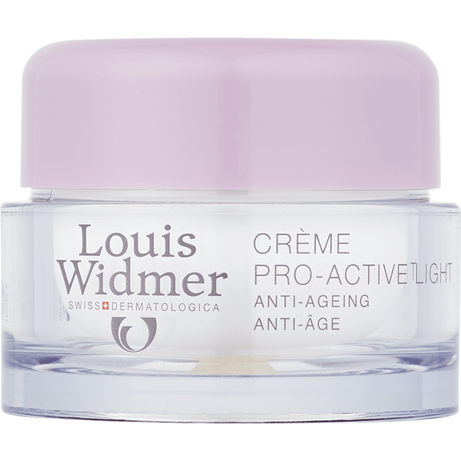 Louis Widmer Pro-Active Cream Light Licht Geparfumeerd