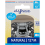 Difrax Fopspeen Semi Filled Natural 12+ Maanden