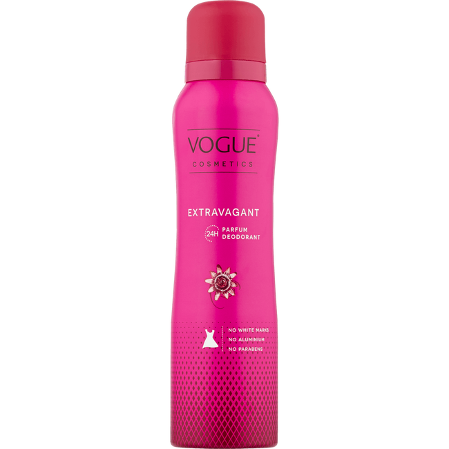 Vogue Cosmetics Extravagant Parfum Deodorant Spray