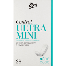 Etos Control Ultra Mini, incontinentieverband Ultra Mini, 28 stuks