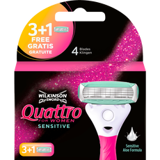Wilkinson Quattro For Women Scheermesjes 4-Blads