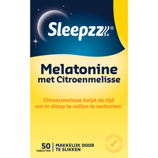 Sleepzz Melatonine Citroenmelisse
