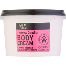 Organic Shop Body Cream Japanese Camellia
