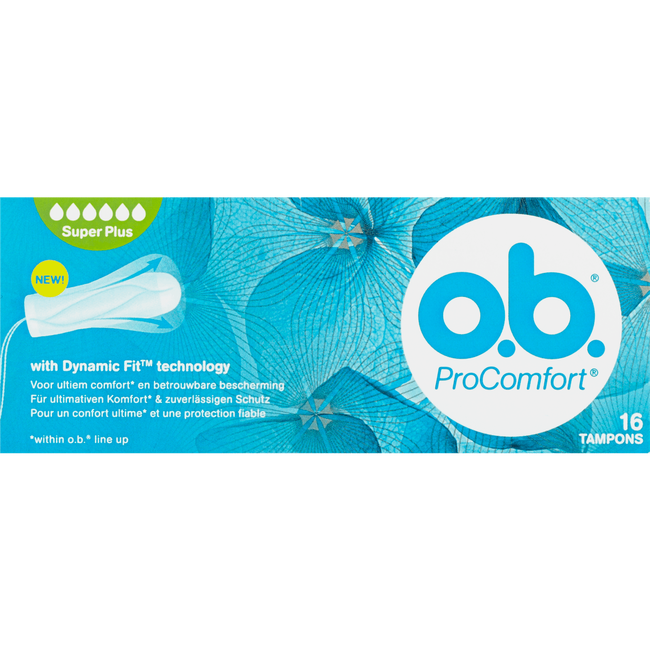 o.b. ProComfort Tampons Super Plus