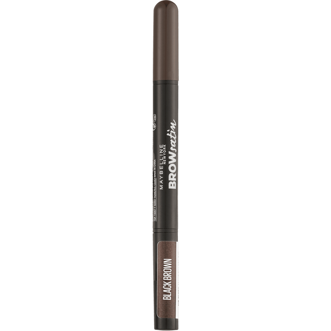Maybelline Brow Satin Eyeshadow Duo 05 Black Brown