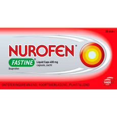 Nurofen Fastine Liquid Caps 400 mg