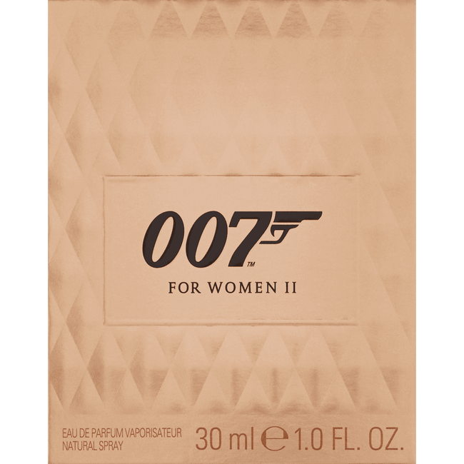 James Bond `007 For Women II Eau De Toilette