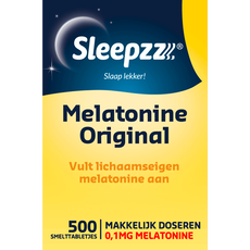 Sleepzz Melatonine 0,1 mg Original Smelttabletten