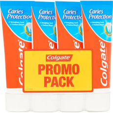 Colgate Caries Protection 4-pack Tandpasta