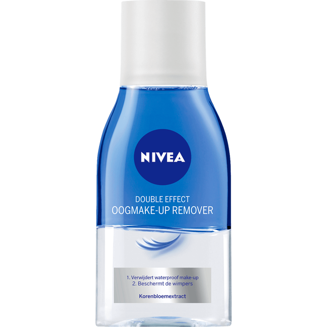 NIVEA Double Effect Waterproof Oogmake-up Remover