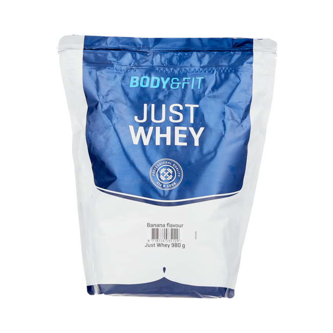 Body & Fit Just Whey Banana 0.980Kg Pouch
