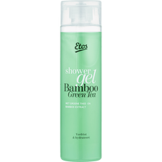 Etos shower gel Green tea & bamboo (met bubbels)