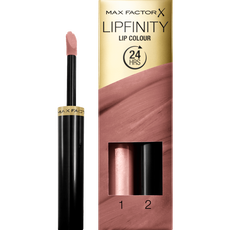 Max Factor Lipfinity Lip Colour 2-Step Long Lasting Lipstick - 190 Indulgent