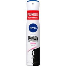 NIVEA Black & White Invisible Original Deodorant Spray