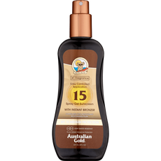 Australian Gold Bronzer Spray Gel Sunscreen SPF15