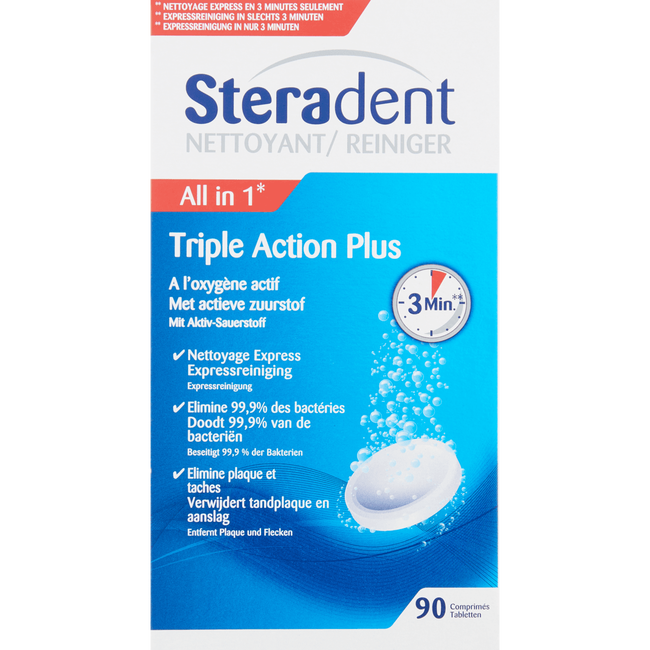 Steradent All-In-1 Reiniger