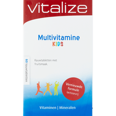 Vitalize Multivitamine Kids Kauwtabletten