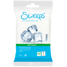 Sweeps Refreshing Wipes Mini