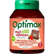 Optimax Kids 1+ Kauwtabletten Multivitaminen Aardbei