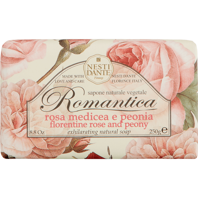 Nesti Dante Florentine Rose And Peony Natural Soap