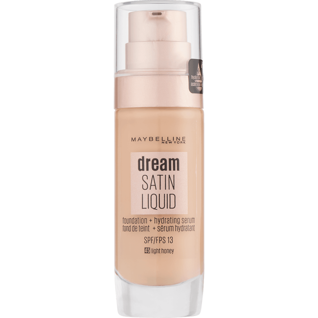 Maybelline - Dream Satin Liquid - 45 Light Honey - Foundation SPF13