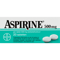 Aspirine Tabletten 500 mg