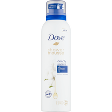 Dove Deeply Nourishing Cotton Oil Shower Foam