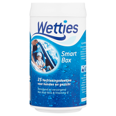 Wetties Smart Box Verfrissingsdoekjes