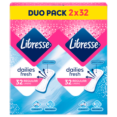 Libresse Daily Fresh Duopack Inlegkruisjes Normal