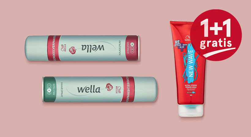 Wella, Wellaflex en New Wave